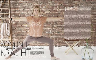 Artikel Yoga magazine: Kom in je kracht