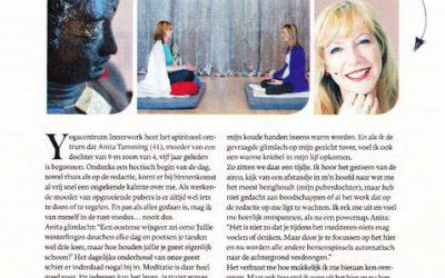Artikel VROUW in Telegraaf: Wondere wereld